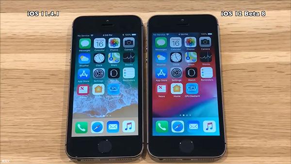 iPhone5s测试发现:iOS12让旧手机运行得更快