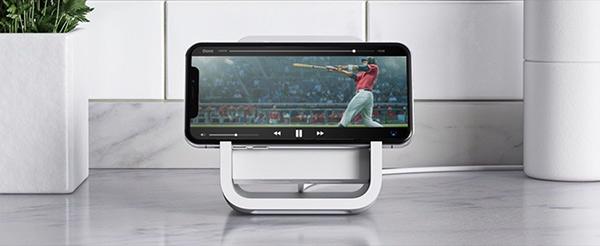 罗技发布iPhone无线充电架:和苹果合作