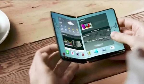 三星:希望成为全球首发可折叠屏幕手机的厂商