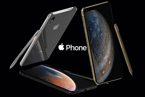 最新iPhone概念图:刘海左移还支持触控笔