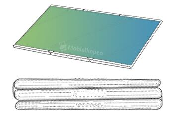 三星专利曝光:可连续折叠两次的手机来了