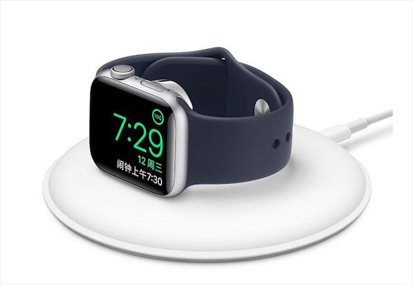苹果发布了新版Apple Watch磁力充电基座