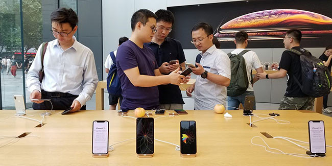 苹果回应iPhone禁令:为中国用户发布更新