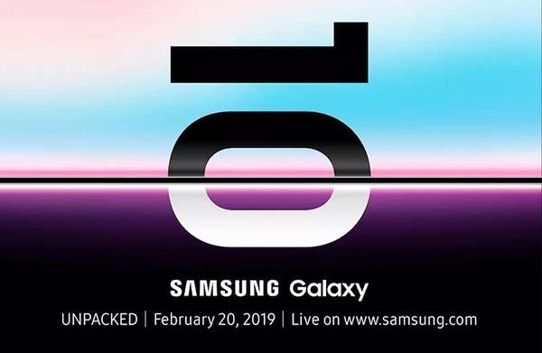 三星宣布2月20日举行发布会,Galaxy S10要来了!