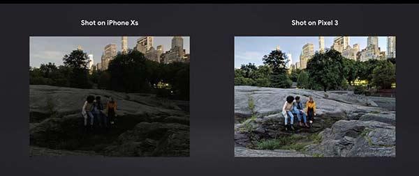 谷歌发Pixel 3广告挤兑苹果:iPhone X拍夜景不行