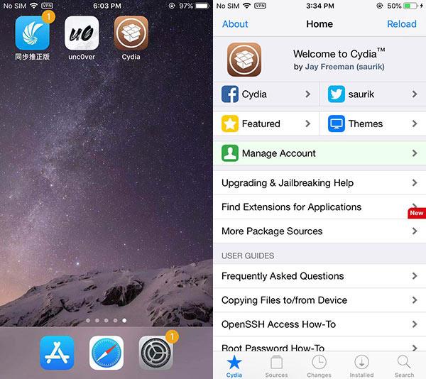 越狱工具unc0ver更新支持iOS12.0-12.2 如何越狱iOS12?