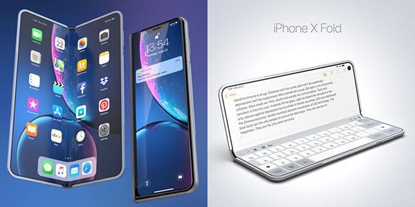 苹果还没推出可折叠iPhone 先看看概念设计