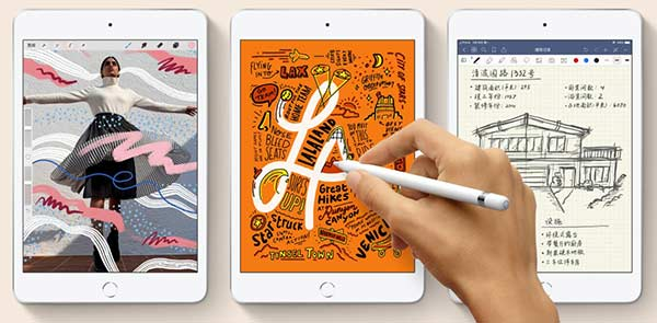 苹果新iPad来了!2019年新款iPad Air和iPad mini正式上架
