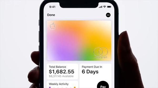 Apple Card有望5年后让苹果跻身十大发卡方
