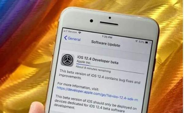 一周一更 苹果发布iOS12.4 beta2更新