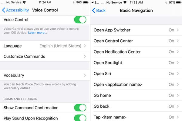 iOS13新语音辅助控制功能 不用动手的交互