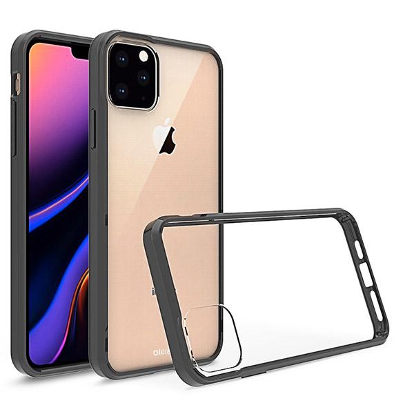 iPhone 11 Max 保护壳新图,静音键采用新设计