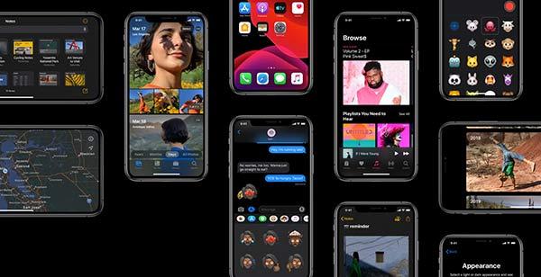 苹果提醒开发者,为iOS13深色模式做准备