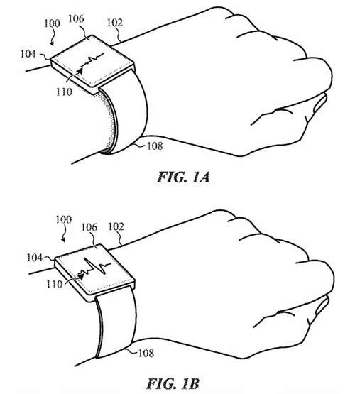 未来可期?苹果获得多项Apple Watch表带专利