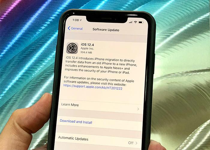 苹果正式关闭iOS 12.4系统验证通道,用户无法再降级至iOS12.4进行越狱