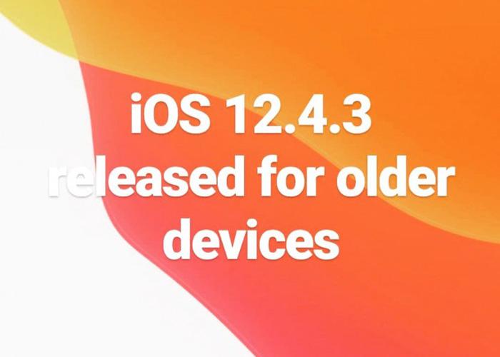 iPhone 5s等旧型号苹果设备现可升级iOS 12.4.3