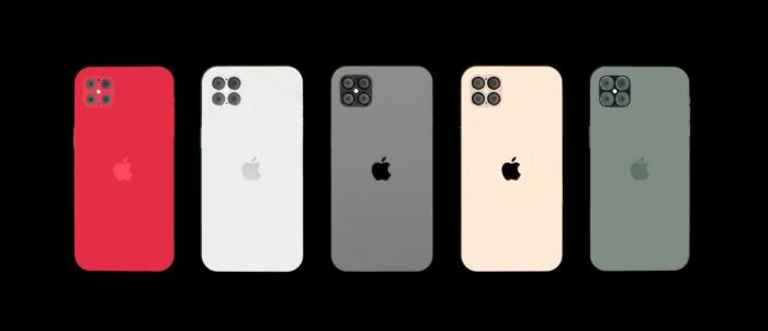 iPhone 12 Pro 概念视频:采用四摄后置摄像头配置/刘海屏消失
