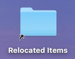升级macOS Catalina:桌面出现的Relocated Items文件夹是什么?