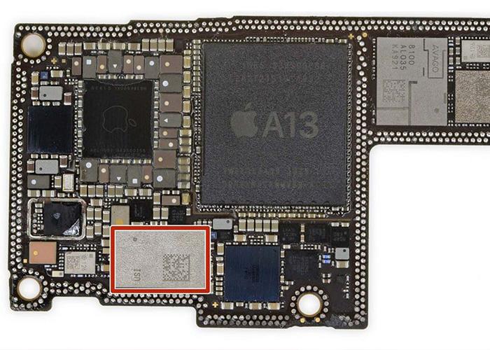 iPhone11 U1芯片是苹果自主设计研发,并非采用第三方芯片