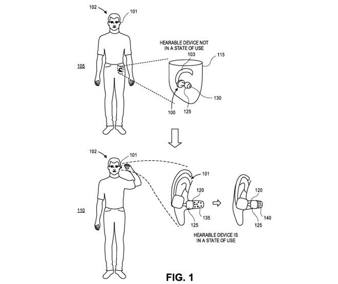 苹果新专利:未来通过气压更精准检测AirPods佩戴效果