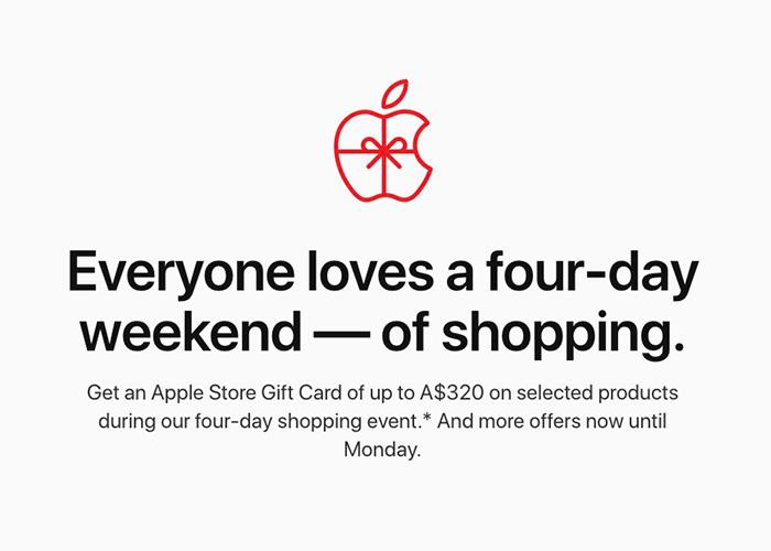 苹果黑五促销:iPhone 11系列等新产品不参与礼品卡赠送