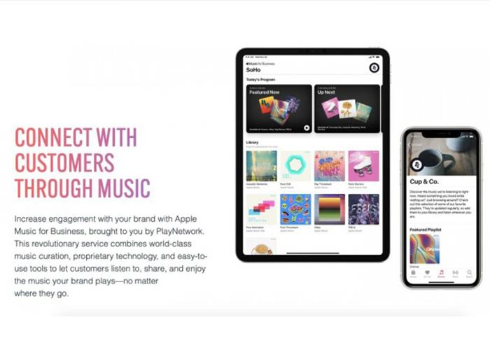 """苹果推出""""Apple Music for Business""""计划,向零售商店提供音乐服务"""