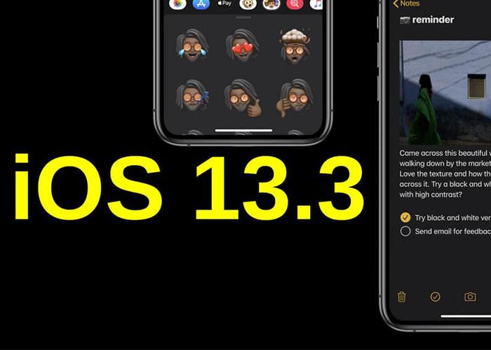 苹果发布iOS13.3正式版:新增iMessage垃圾信息解决方案
