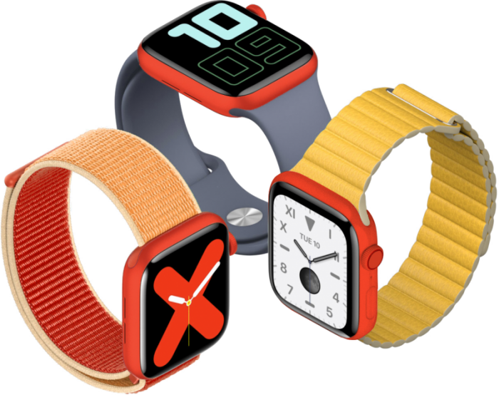 (PRODUCT)RED 版 Apple Watch S5 明年发售