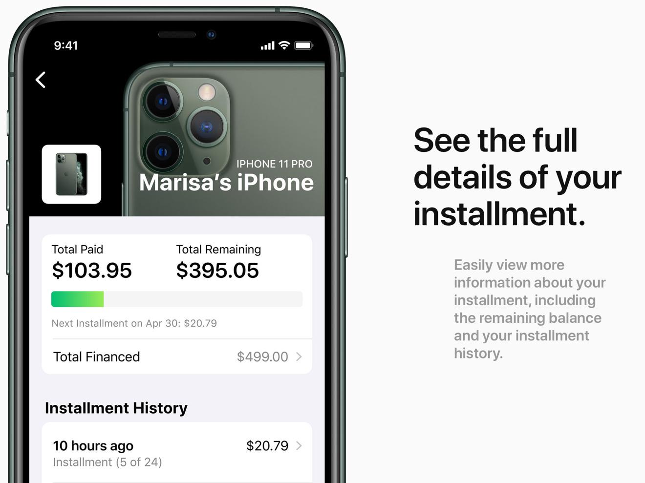 Apple Card用户可分期购买iPhone 无利息还有6%折扣