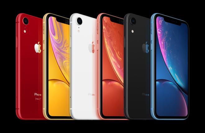 iPhone XR成为2019年3季度全球销量最佳的智能手机
