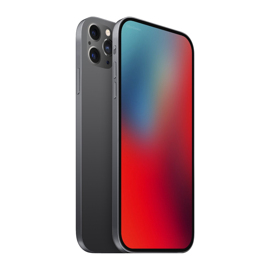 2020年新款iPhone曝光:四等边无刘海,静音键设计改变
