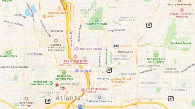 苹果兑现承诺:改进版Apple Maps已实现在年底前覆盖整个美国