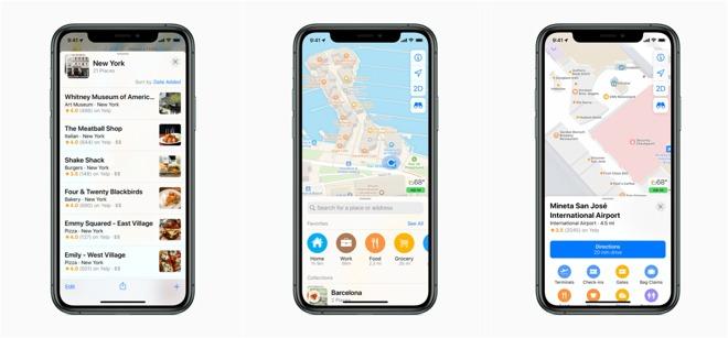 重新设计的苹果地图应用已推广到美国市场