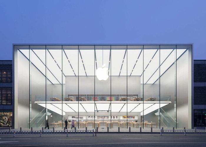 因疫情影响 苹果暂时关闭位于中国的两家Apple Store