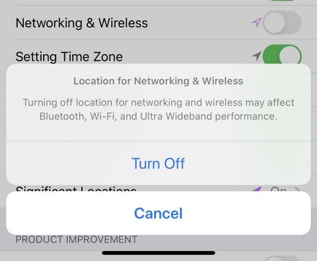 iOS 13.3.1 Beta版中引入了禁用U1超宽带芯片的开关