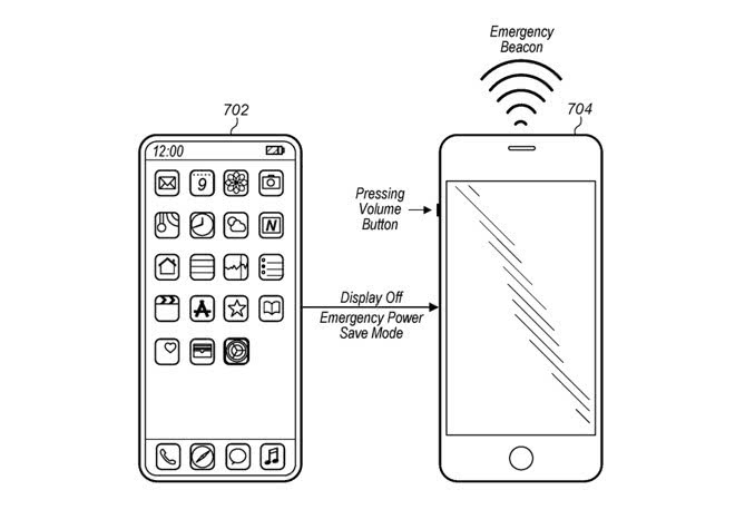 苹果新专利:未来iPhone在无信号情况下也能发出求救信号