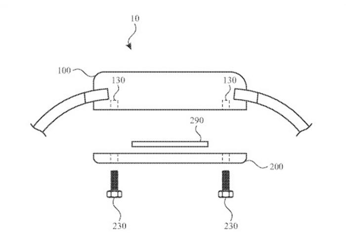 苹果新专利:具有模块化结构设计的 Apple Watch 设备