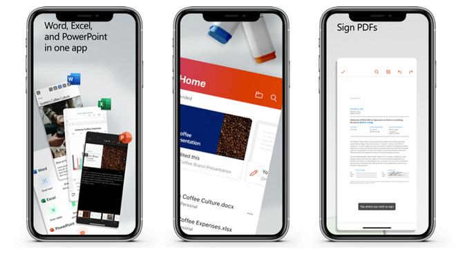 微软Microsoft Office三合一全家桶正式上架App Store