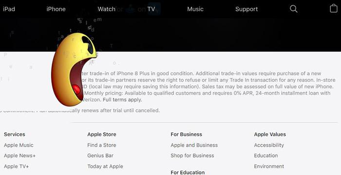 众多游戏角色占领苹果官网,配合苹果产品进行有趣互动