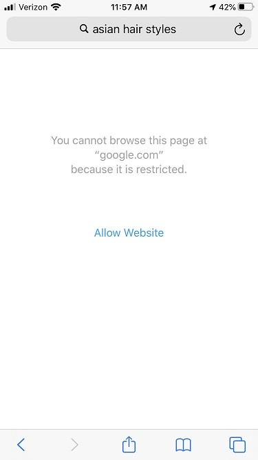 """网友吐槽iPhone色 情内容过滤器粗暴拦截""""亚洲人""""等搜索词条"""
