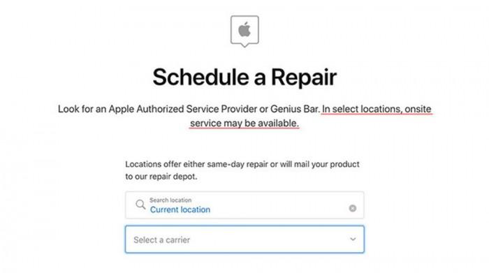 苹果在美国部分城市上线现场维修iPhone服务