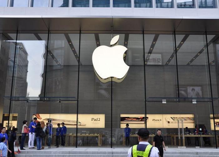 中国新冠疫情有所缓解 苹果所有零售店恢复营业