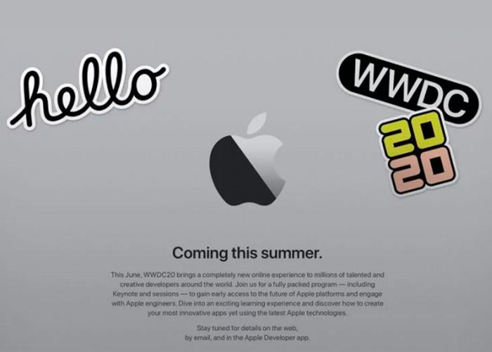受冠状病毒影响 苹果宣布WWDC 2020将仅提供线上活动