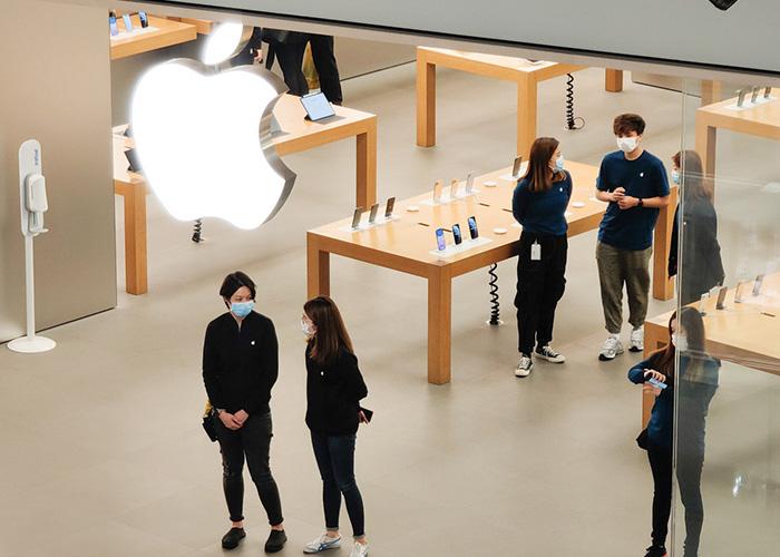 大中华区以外的 Apple Store 改为无限期停业