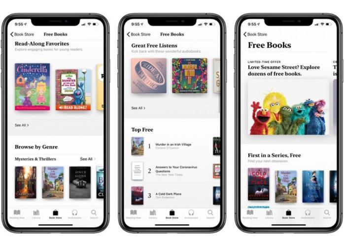 Apple Books发出通知 限免部分书籍和有声读物