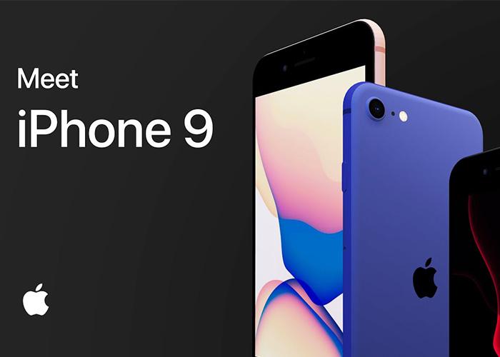 2020年款iPhone 9即将发布:红、白、黑三个颜色