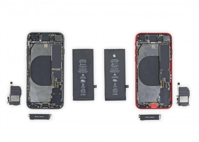 iFixit拆解新iPhone SE:大部分零件与iPhone 8通用,但电池和HOME键不通用