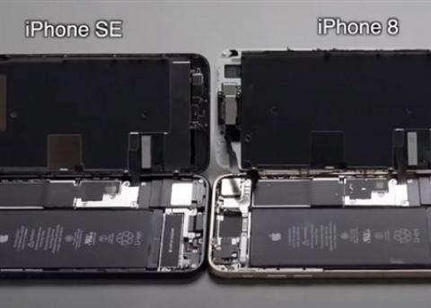 专家称iPhone SE2极易拆解维修 但电池等跟iPhone 8不通用