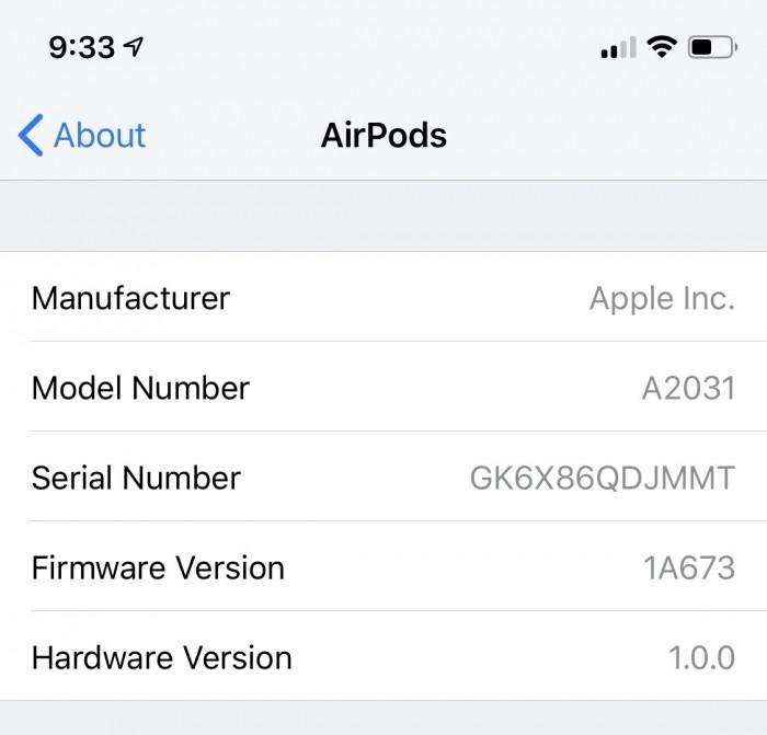 换新AirPods搭载未发布的2D3固件 导致无法正常使用