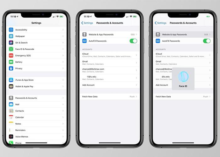 iOS 14:钥匙串密码管理增强,加入更多重要功能